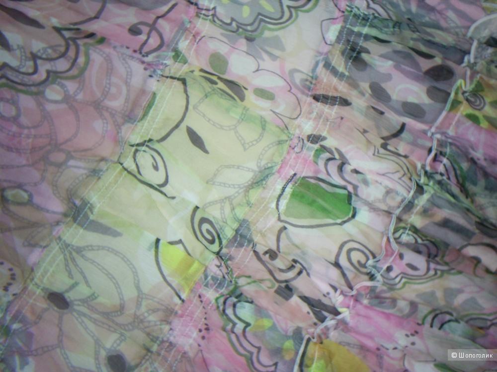 Шелковая юбка от немецкой фирмы Oui р 48-50.