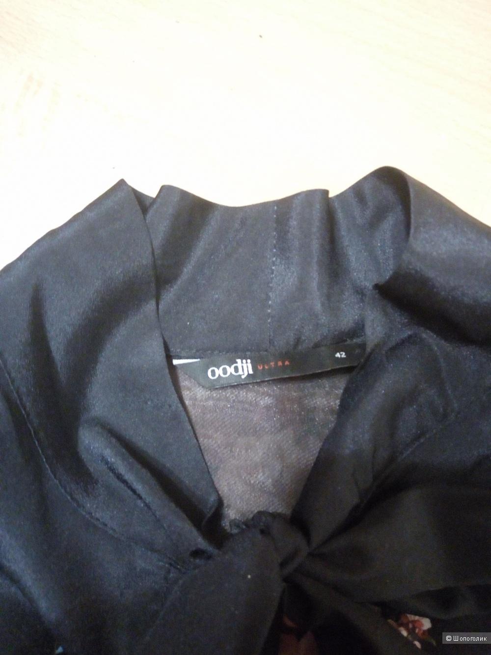 Платье Oggi черное 44-46 размер.