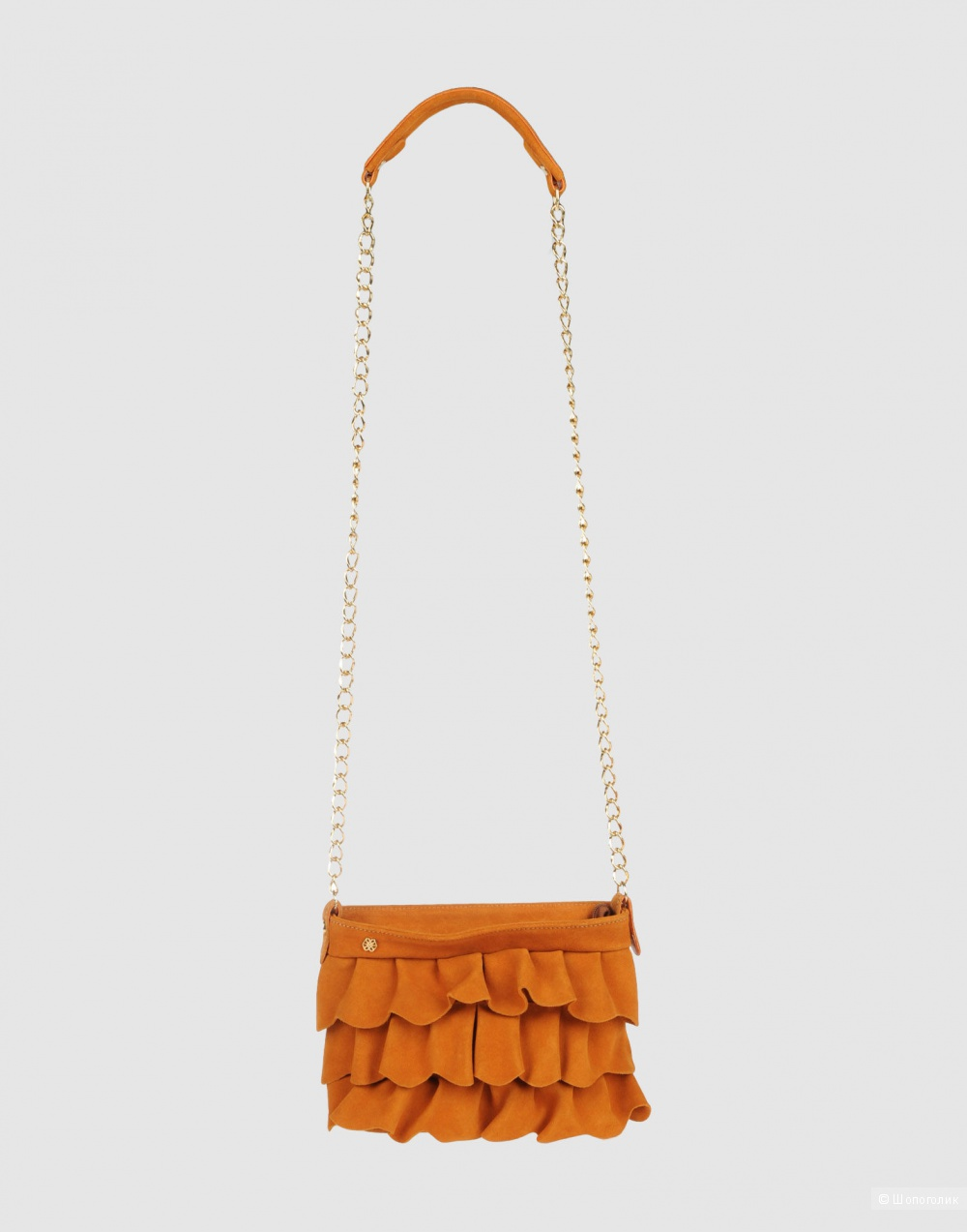 Замшевая сумка Cuple