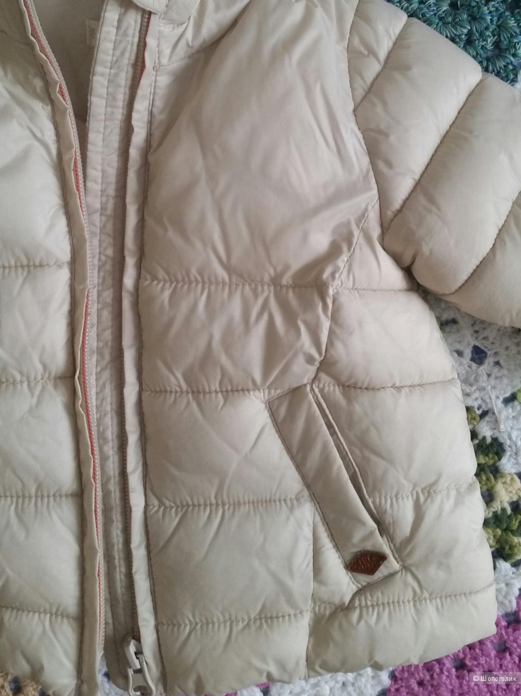 Стеганая курточка 74 размер Mango