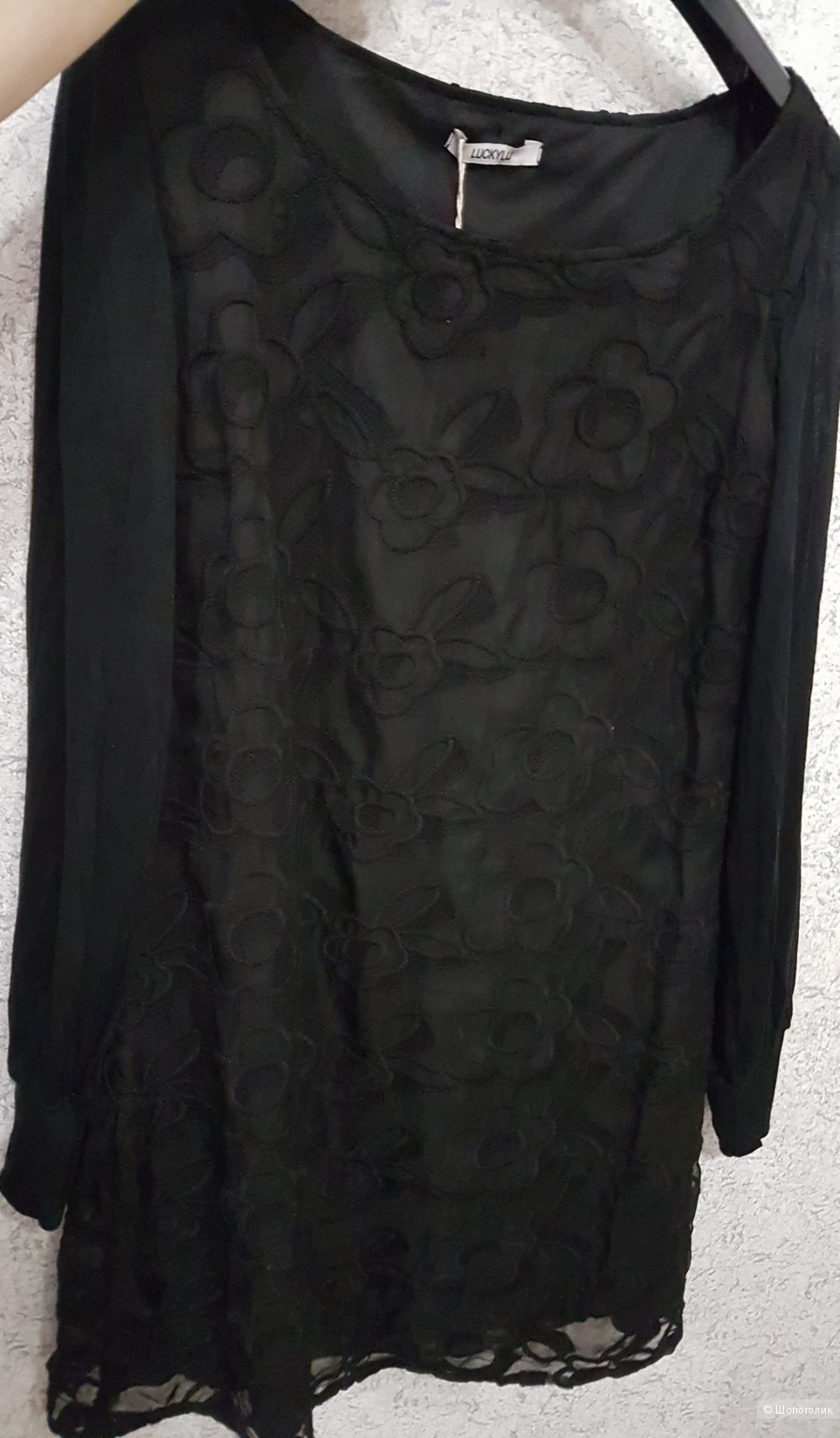 Платье LUCKY LU MILANO 46 (Росс)  дизайнер:44 (IT)