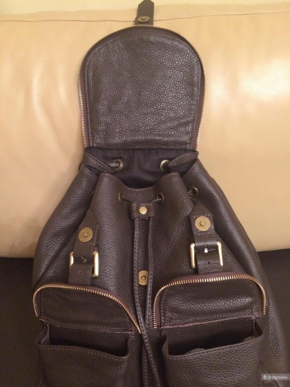 Рюкзак из натуральной кожи PARENTESI (Италия)