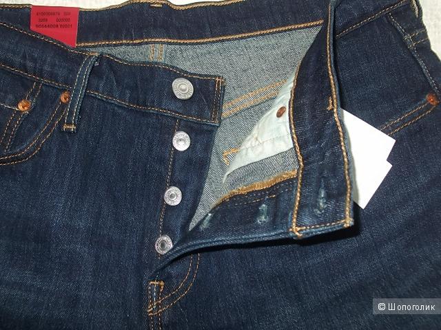 Новые джинсы Levi's 501 30 /34