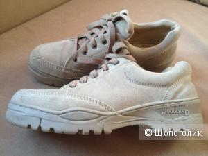 Ботинки мужские замшевые WoodLand, размер 42-42,5