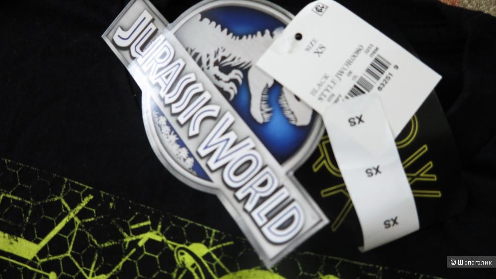 Футболка для мальчика, Jurassic World, xs
