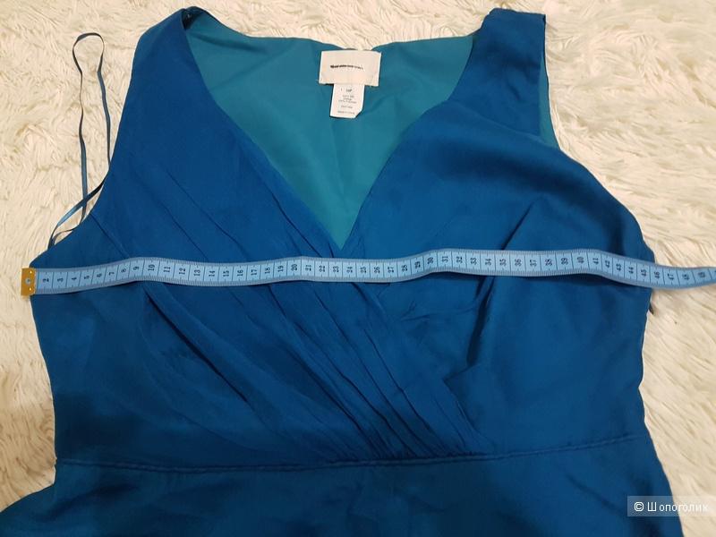 Платье JCREW королевский синий, 40 EUR, 10 petit, на 46 р. малый рост
