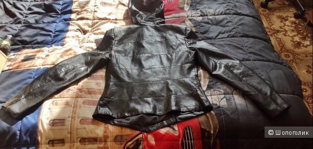 Новая кожаная куртка. Размер 44-46 (М)