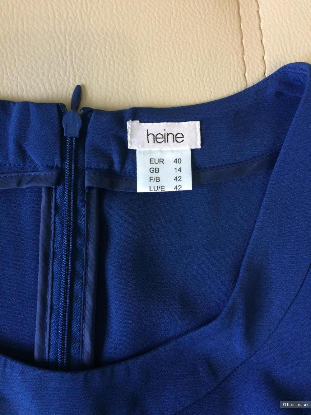 Платье синее Heine 48-50 размер