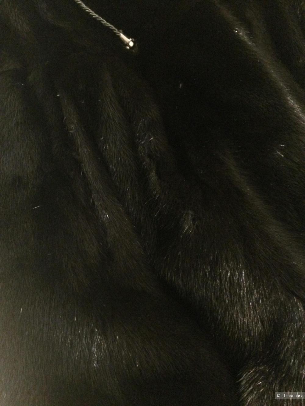 Норковая шуба размер S
