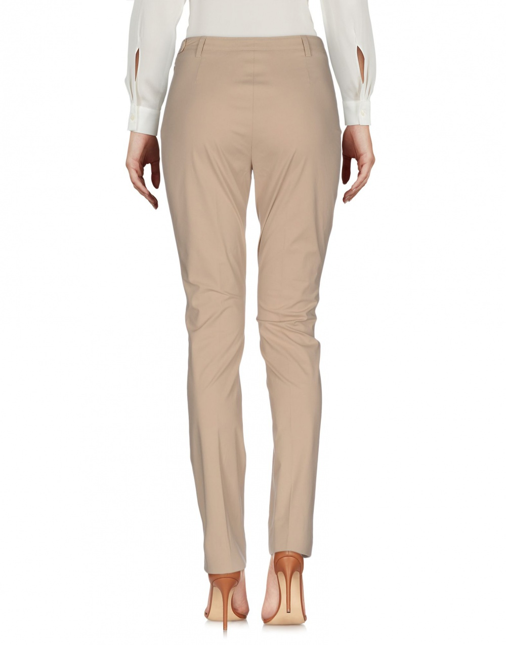 Итальянские бежевые брюки Cruciani 42IT новые, оригинал