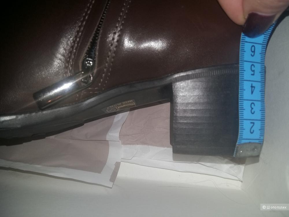 Сапоги женские ,демисезонные ,Италия, марка TREMP ,размер 36.