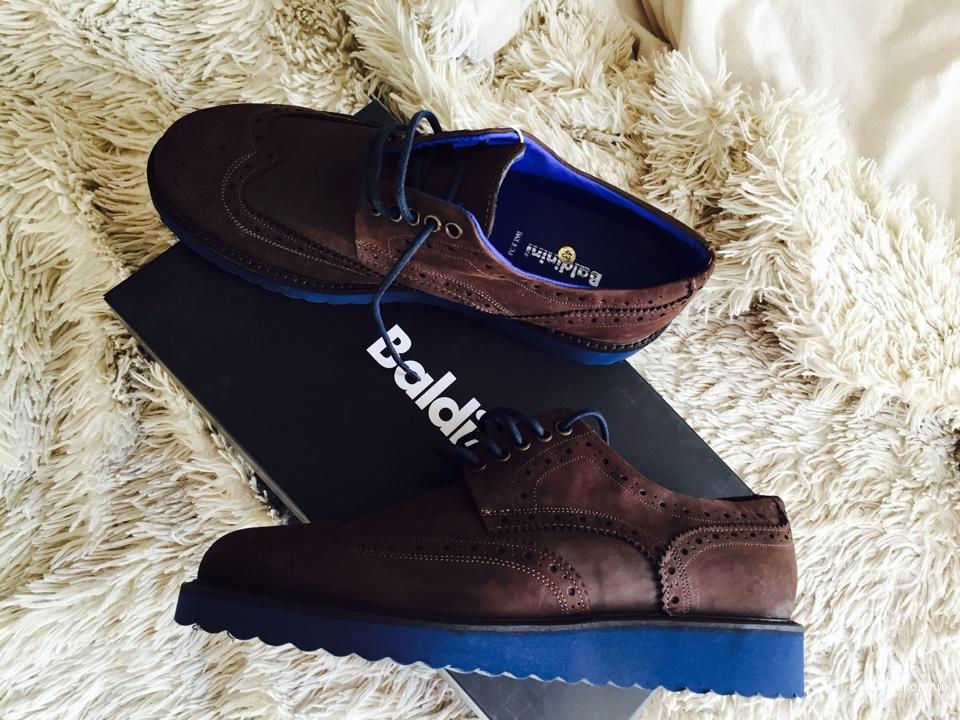 Мужские туфли BALDININI  размер 43