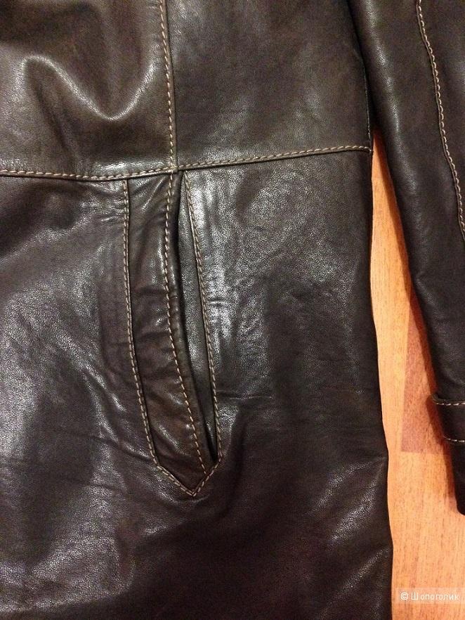 Куртка мужская натуральная кожа 58 размер