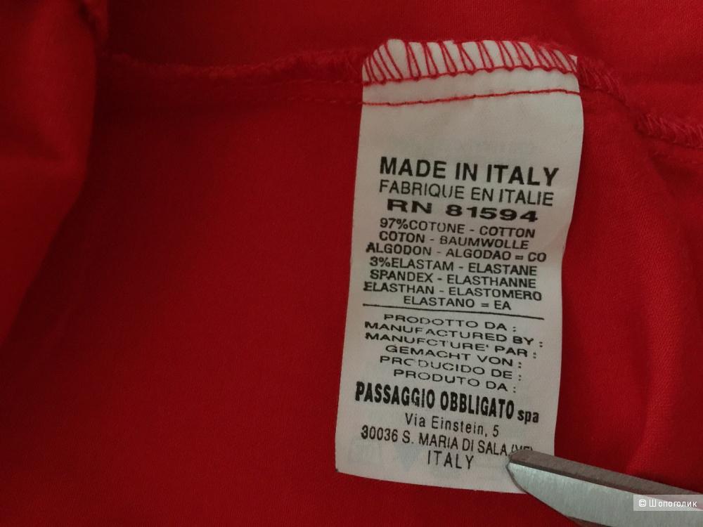 Шикарный итальянский топ марки NARACAMICIE рамзер S