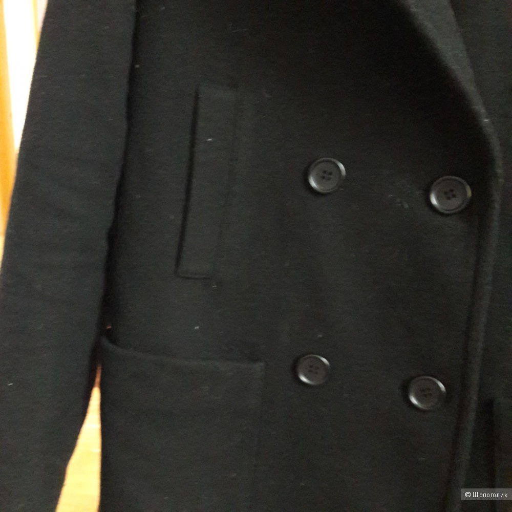 Пальто шерстяное Uniqlo размер 46-48 маркировка m