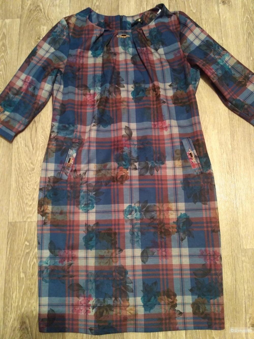 Платье, без бренда, 48-50