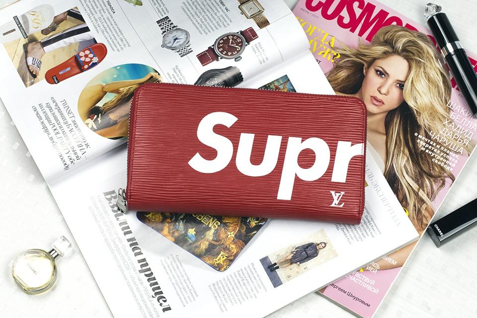 Кошелек Louis Vuitton Supreme