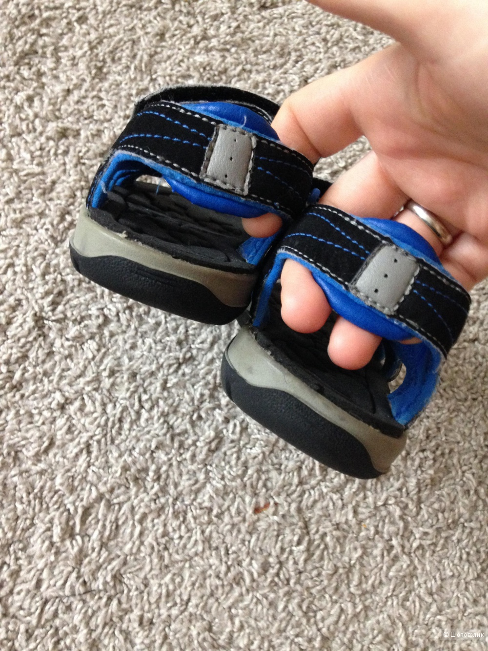 Timberland и adidas на ножку 18,5-19см