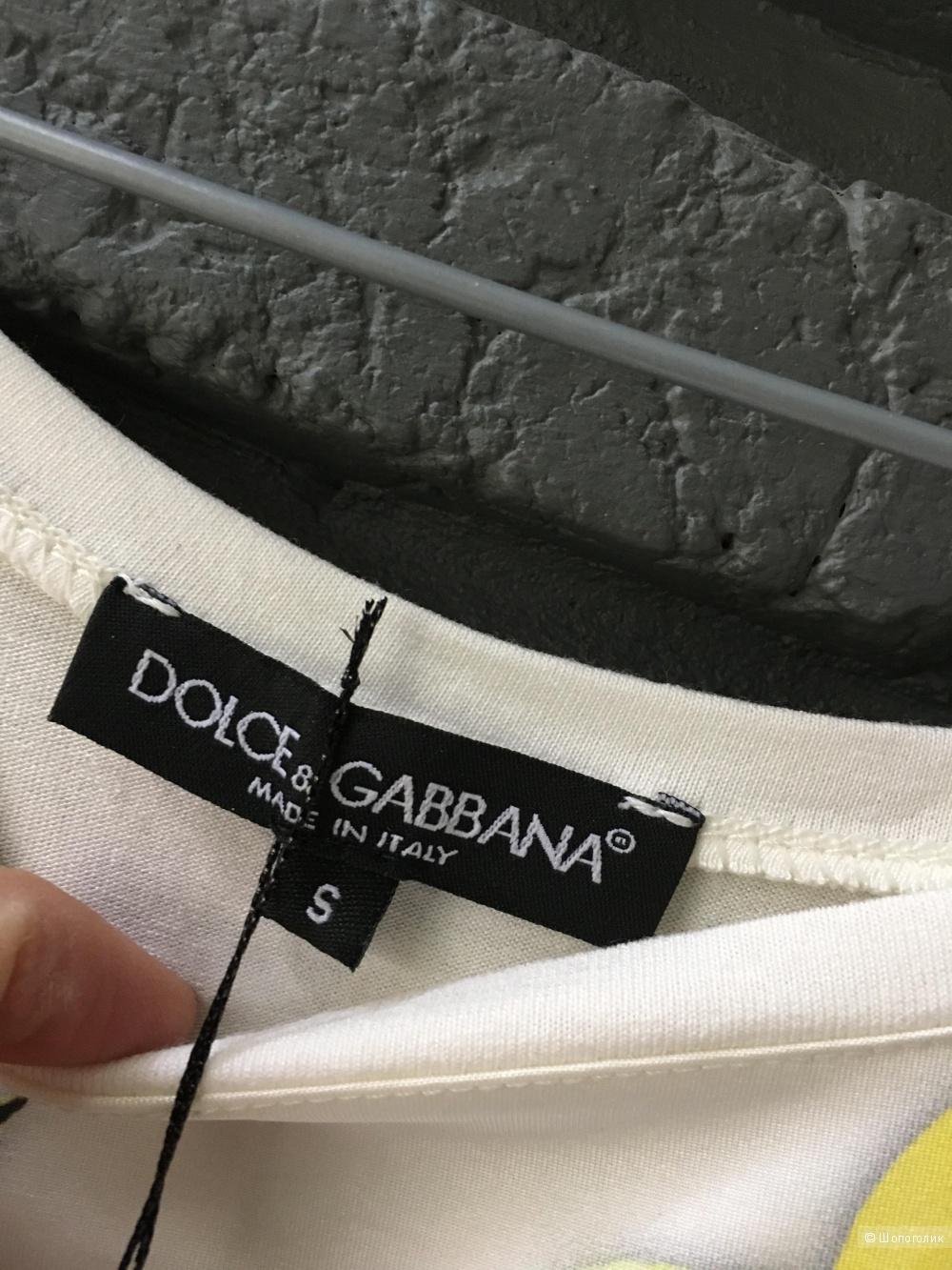Футболка Dolce & Gabbana, реплика, размер S
