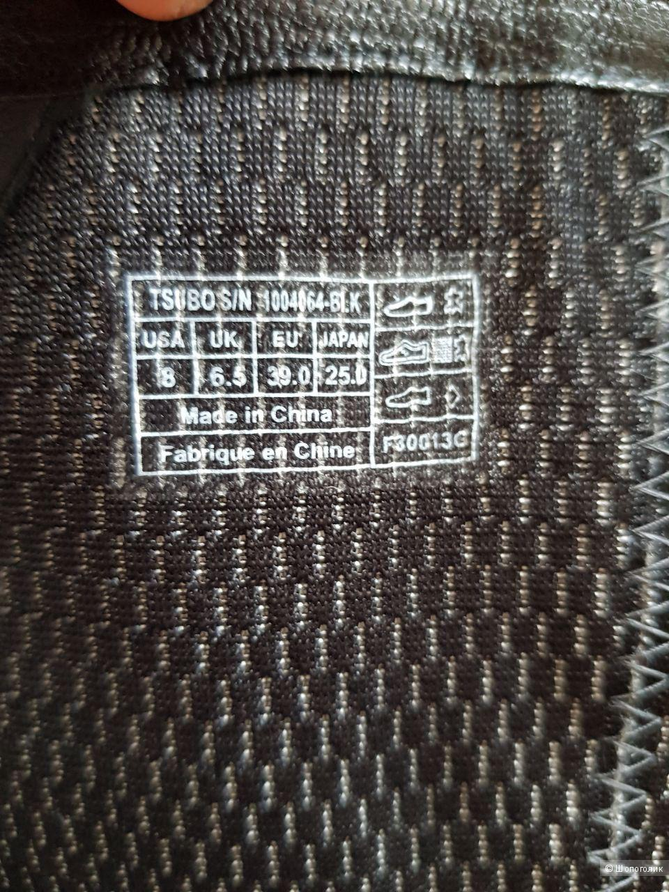 Сапоги марки TSUBO натуральная кожа, размер 38