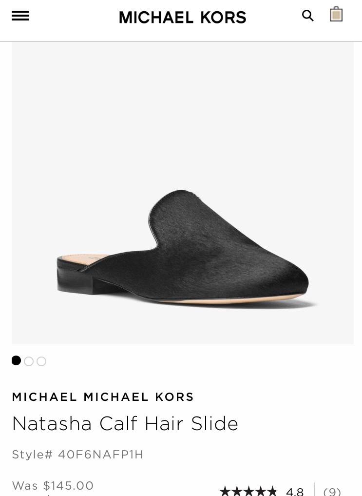 Шлёпки(мюли) Michael Kors,размер 7,5.