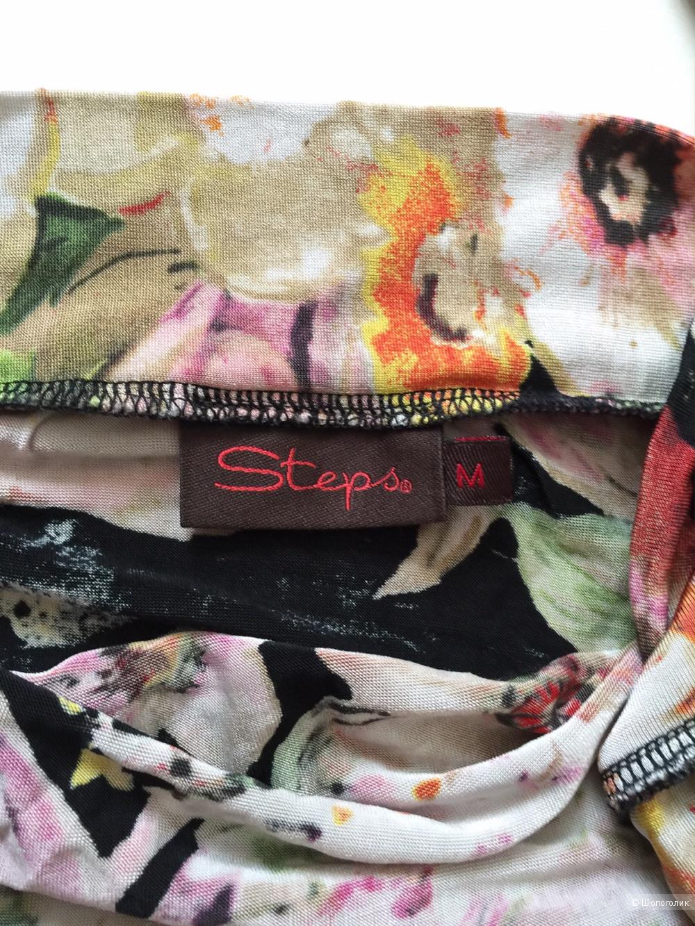 Яркая мечта цветочный топ от марки STEPS размер M