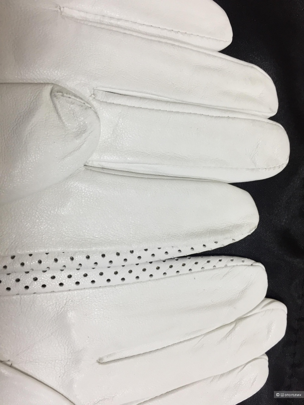 Перчатки кожаные Marco Bonne 7.5 размер