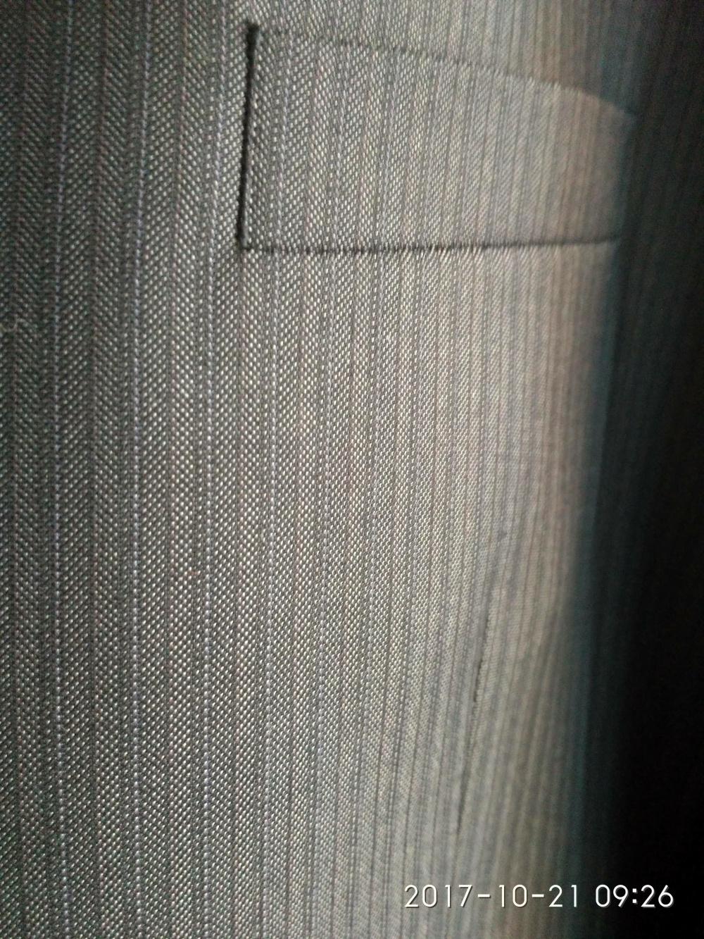 Костюм серый мужской Boston размер 54/96 рост 170