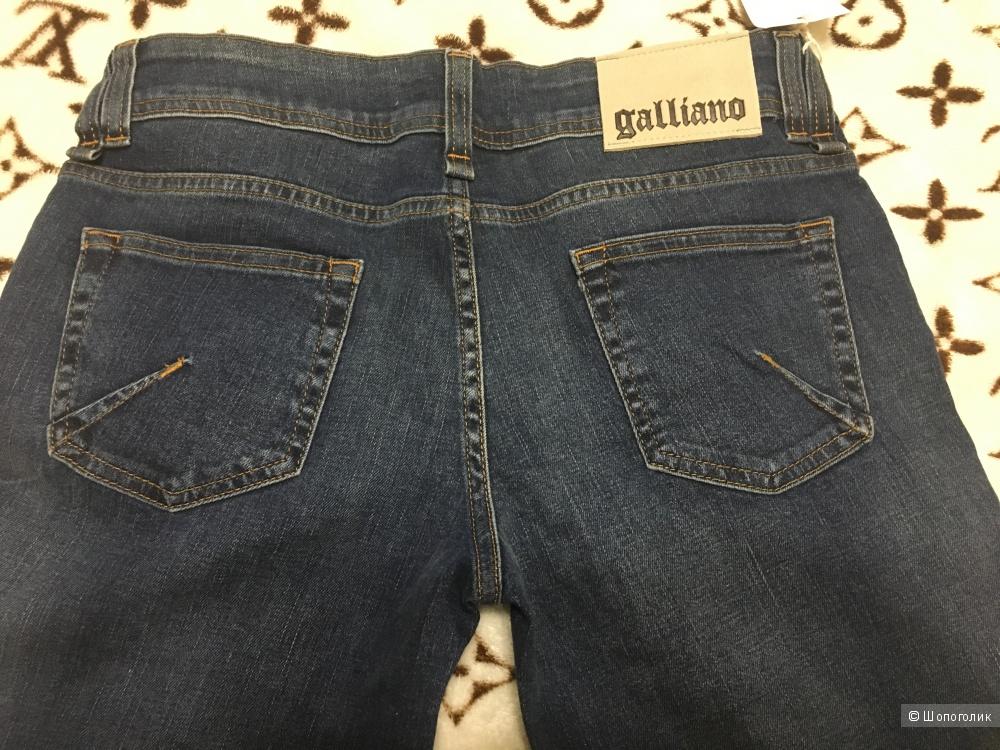 Джинсы GALLIANO, 31 (Размер Джинсов) Синий
