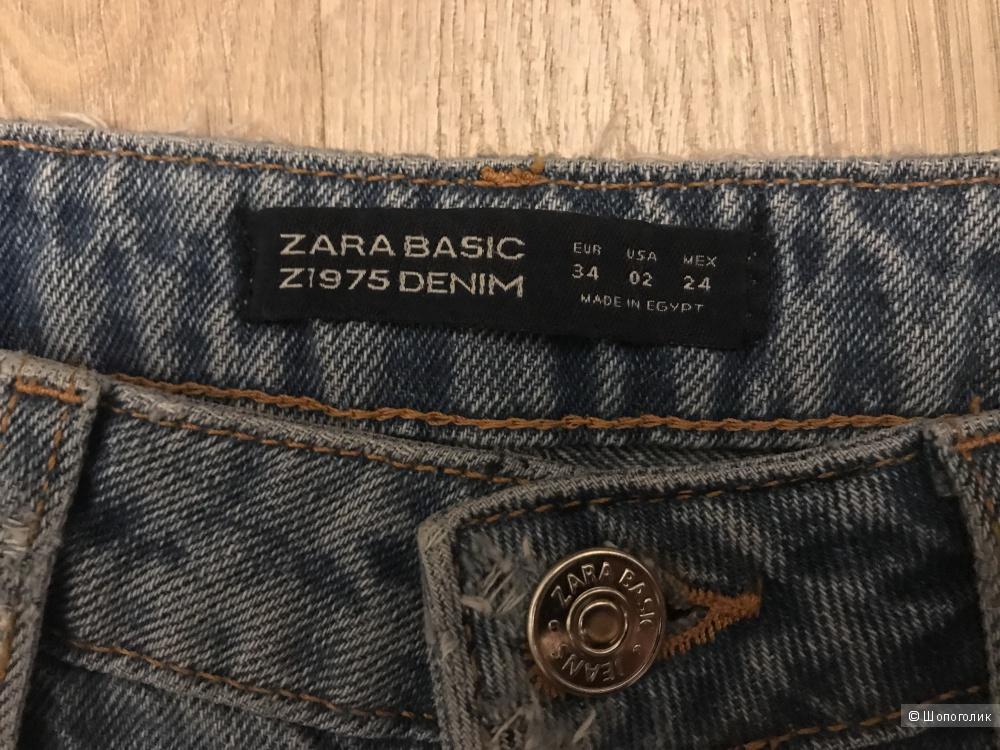 Джинсы Zara Eu 34