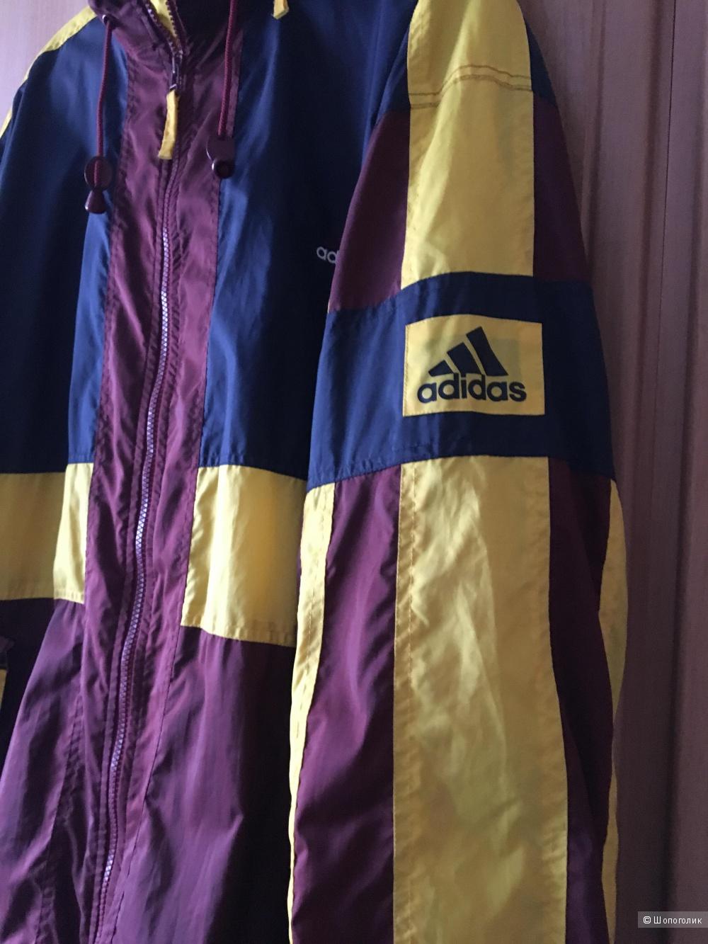 Ветровка Adidas, размер 54-56.