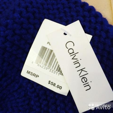 Берет Calvin Klein, размер универсальный