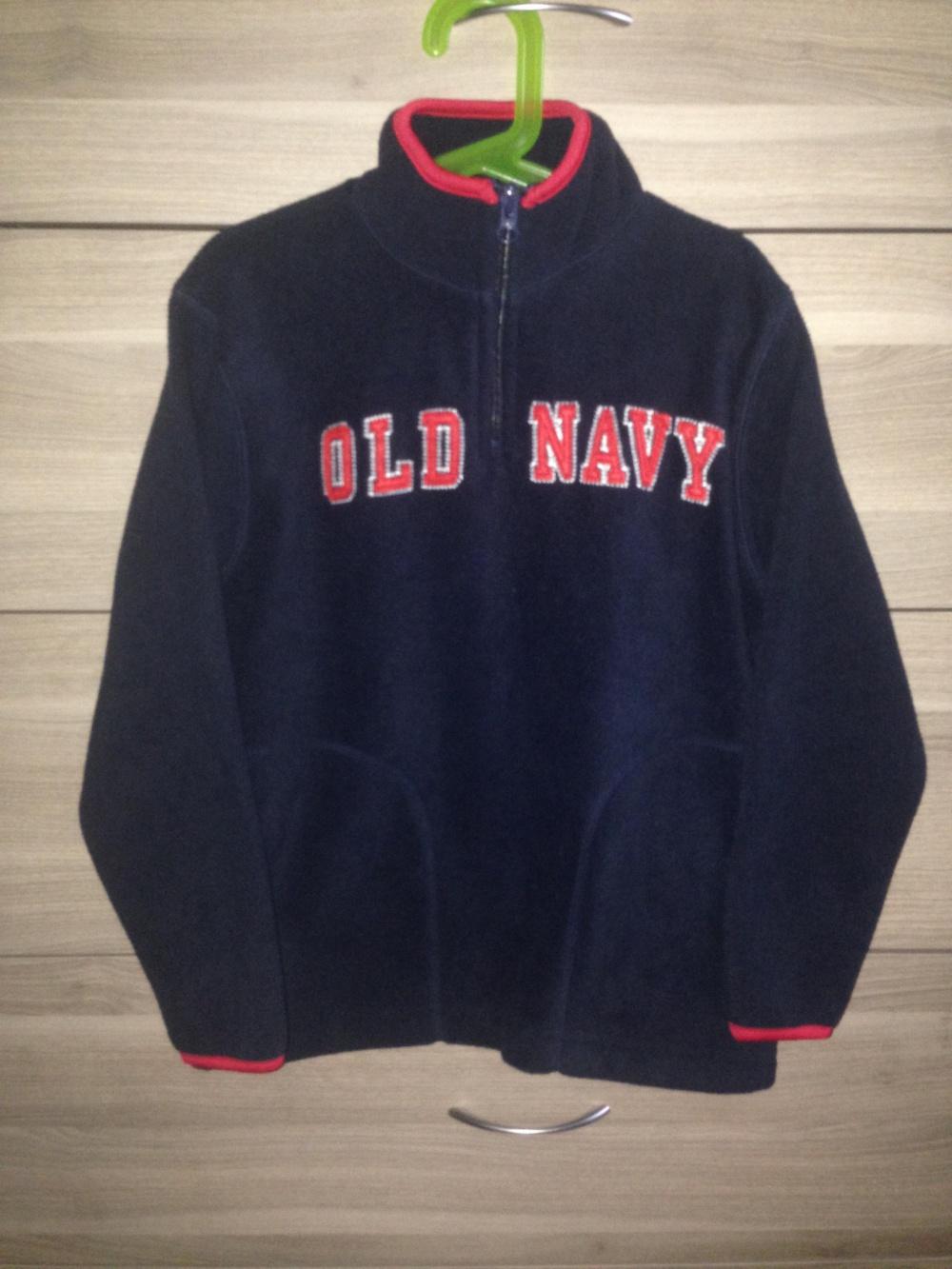 Новая флиска Old Navy 7/8 лет
