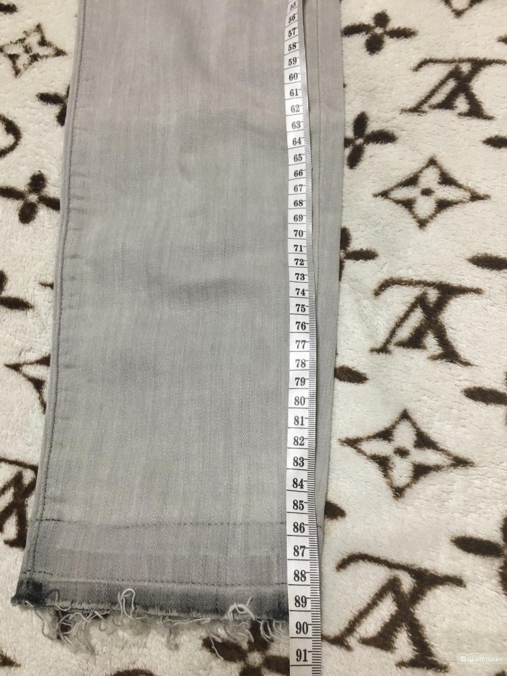 Джинсы CURRENT/ELLIOTT, 30 (Размер Джинсов). Светло-серый