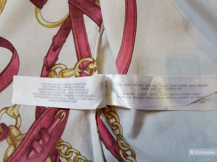 Рубашка со стременами Massimo Dutti, размер 40/30 испанский (42-44 RU)