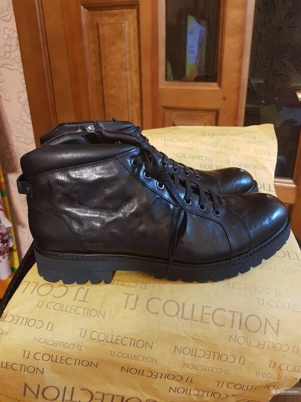 Мужские зимние ботинки (Италия), Tj Collection, 45 р.