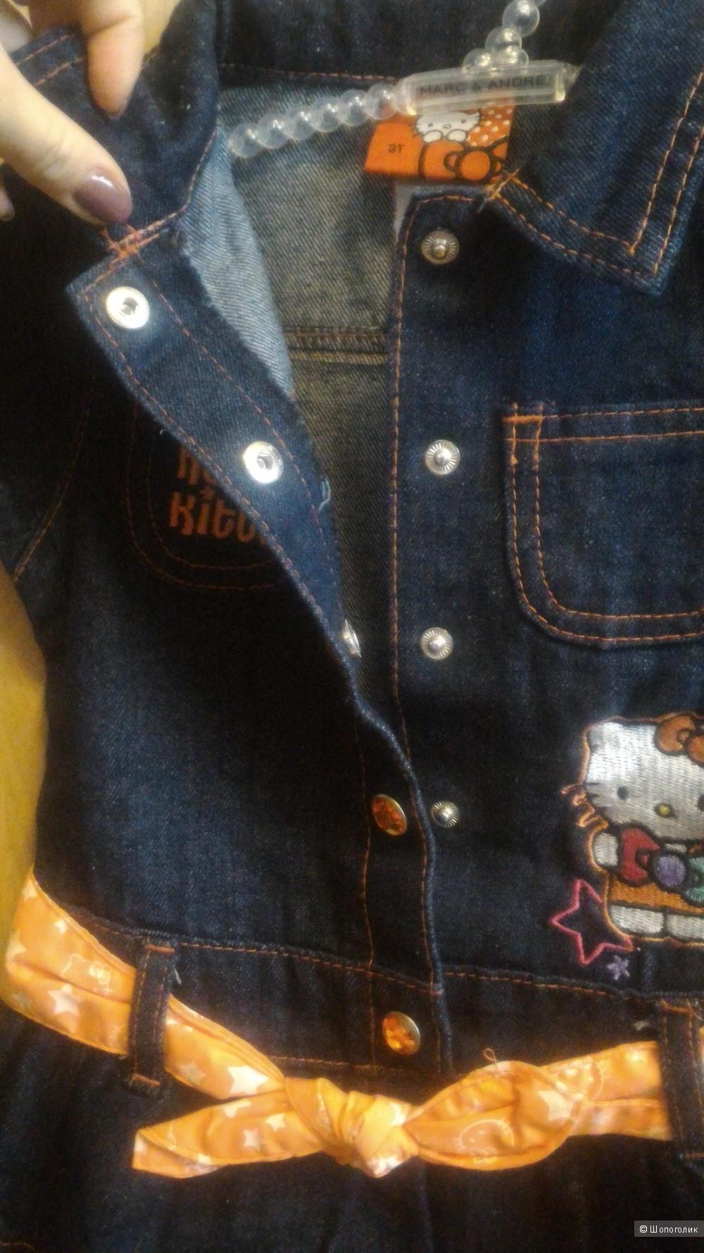 "Платье для девочки ""Hello Kitty by Sanrio"", на 2 года"