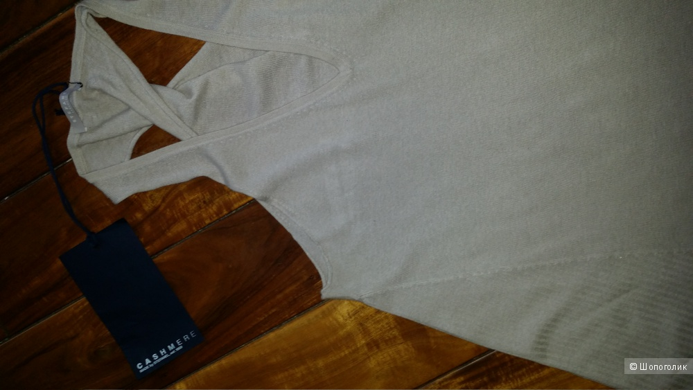 Stefanel 100% кашемир, туника- cарафан M-L