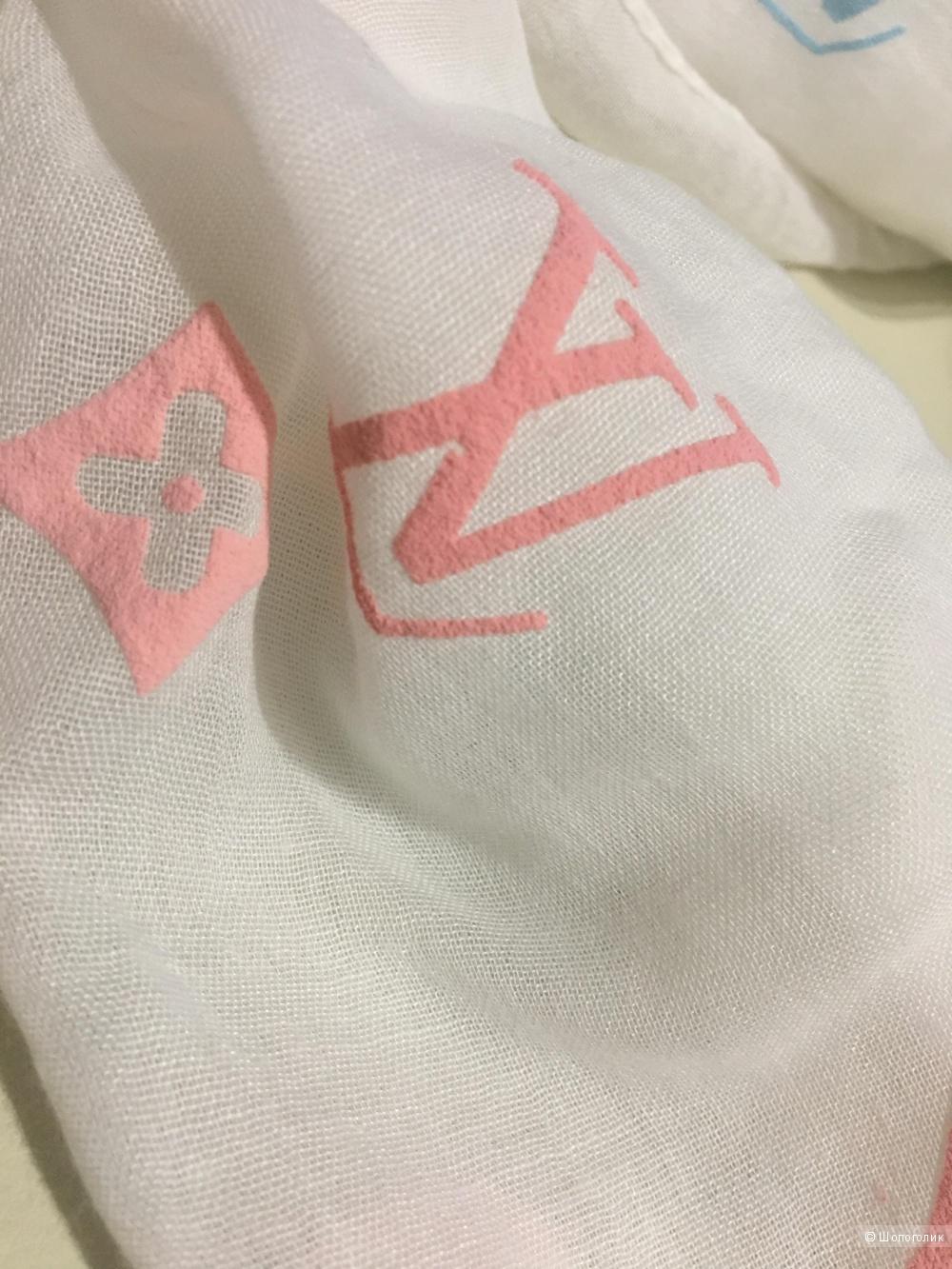 Палантин Louis Vuitton, 75*180, хлопок