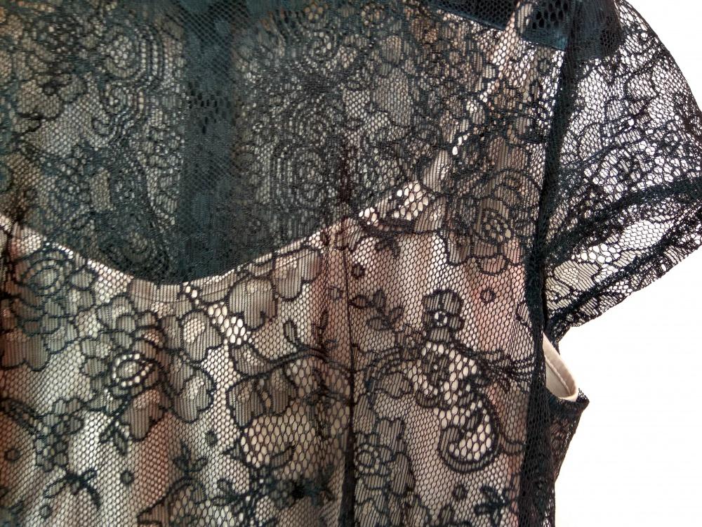 Кружевное платье с бакской Apple Dress 46 разм.
