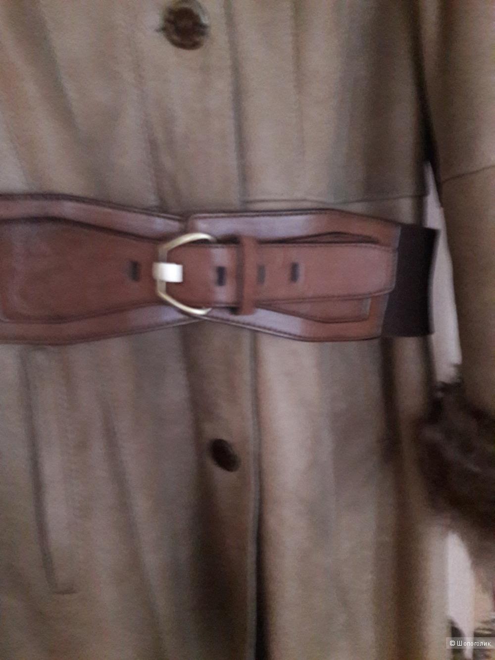 Дублёнка натуральная, SAGITTA, размер 46-48