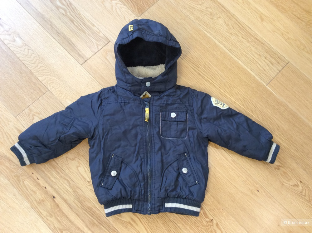Стильная куртка Baby Club осень-зима на мальчика р.92