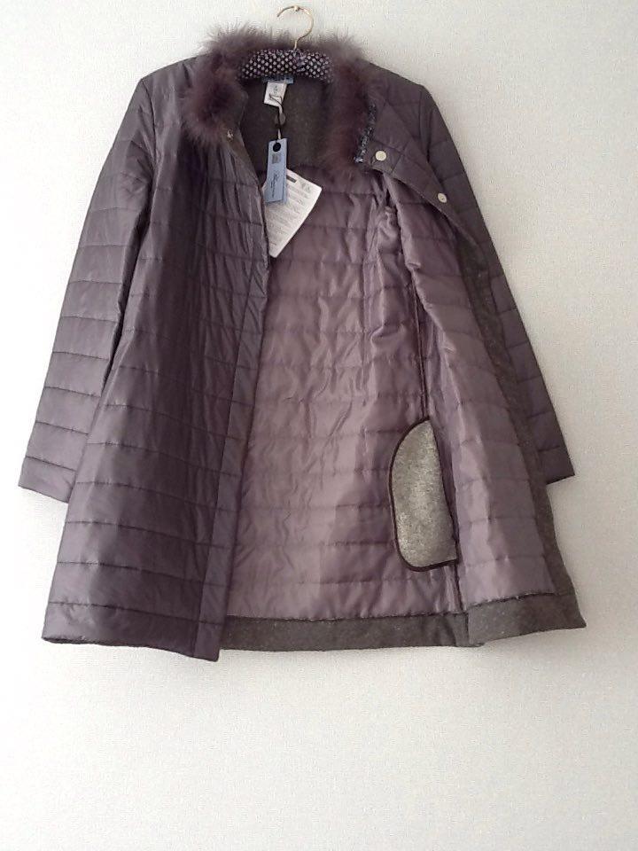 Серая куртка Blumarine 42 IT новая, оригинал (Underwear)