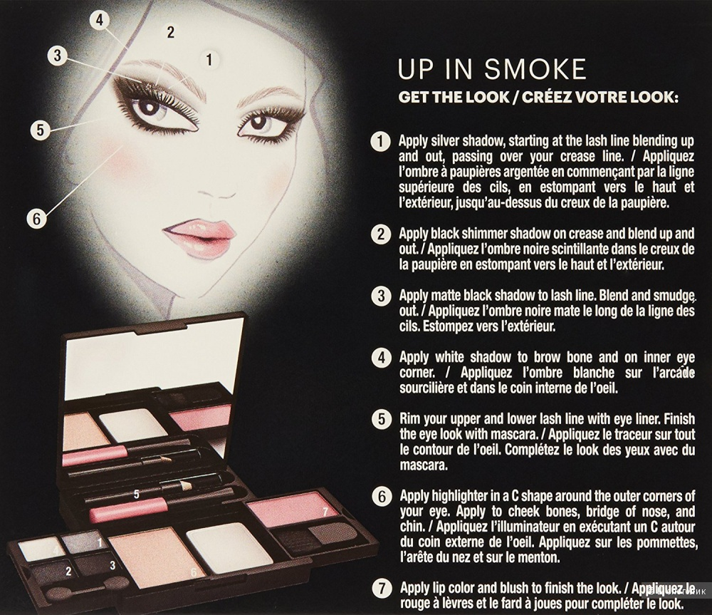 Набор для макияжа Maybelline Up in Smoke
