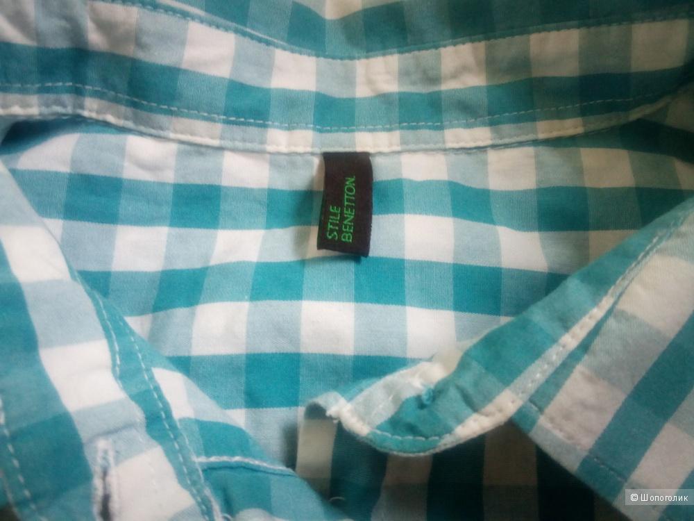 Рубашка блузка Benetton 44-46 размер