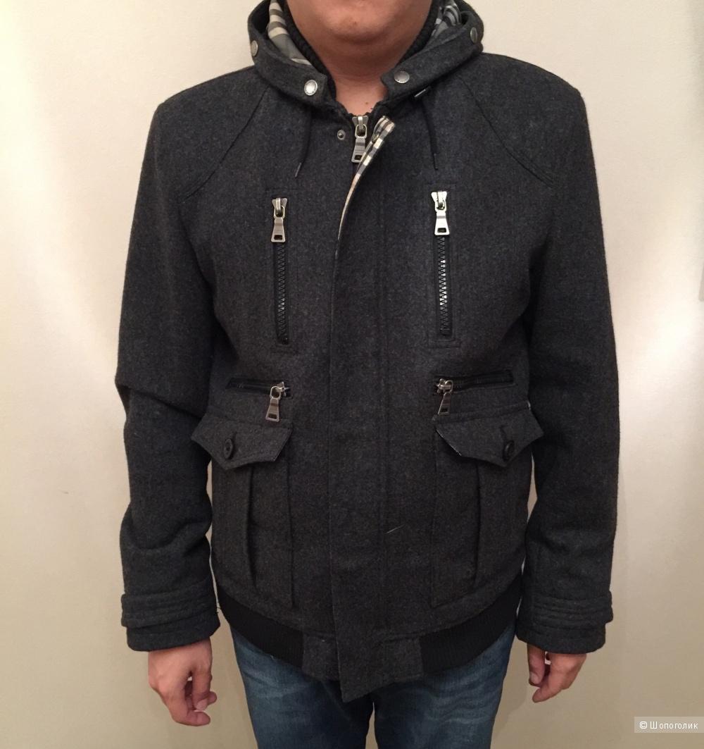 Зимняя куртка Burberry, размер 48-50