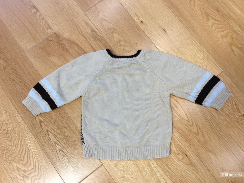 Стильный свитер Disney на мальчика 9-12 мес.
