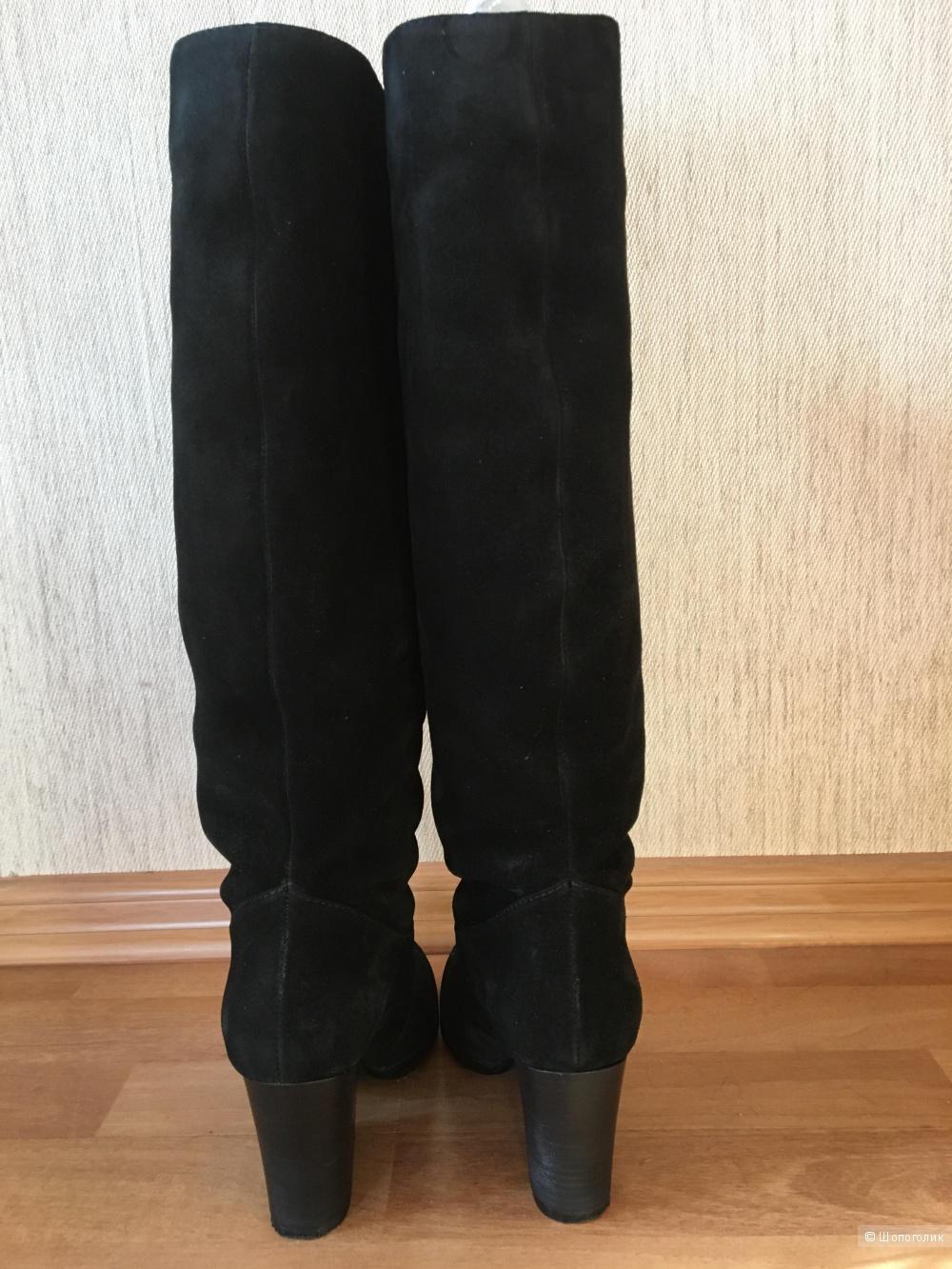 Сапоги демисизонные, замшевые Dakkem, размер 36