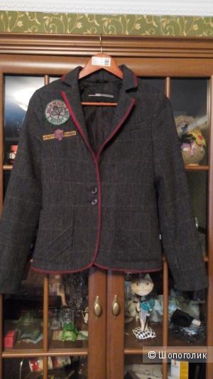 Жакет-пальто из шерсти, VSCT, размер S