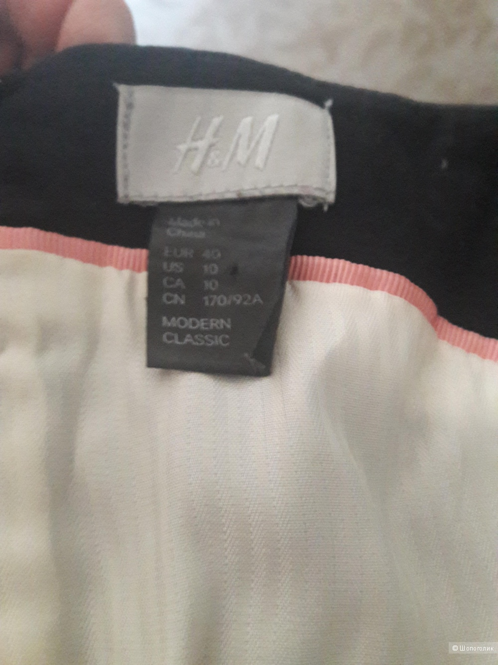 H&M:  маленькое черное платье, оригинал,40